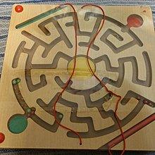 降價 親子玩具-磁性鐵運筆迷宮益智專注力訓練游戲 有損害處,不影響使用 請查看圖