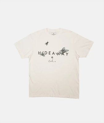 HIDEAWAY @ SUITE X SKULL FLY T-SHIRT 短T