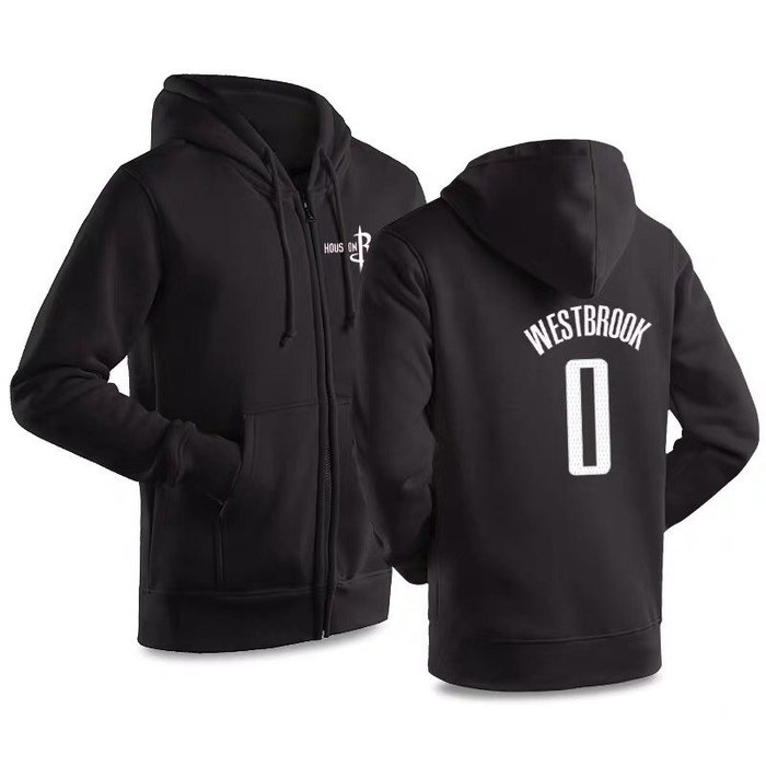 💥威少Russell Westbrook純棉運動厚外套💥NBA球衣火箭隊Adidas愛迪達棒球籃球休閒薄夾克男979