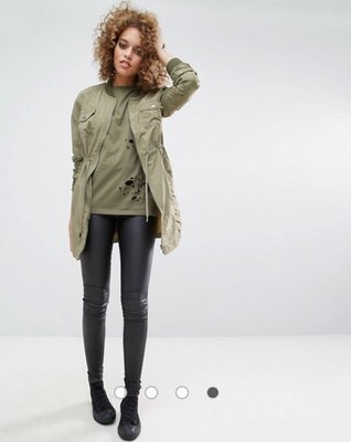 丹麥 Vero Moda 姐妹品牌 Noisy May 軍外套