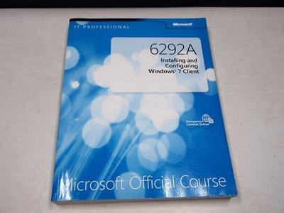 【考試院二手書】《6292A Installing and Configuring Windows 7 client 》