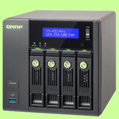 5Cgo【權宇】QNAP TS-253 PRO-8G 網路儲存設備 可加 UX-800P 擴充至60TB 含稅會員扣5%