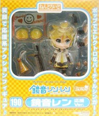 日本正版 GSC 黏土人 初音未來 鏡音連 應援 Cheerful JAPAN限定 可動 模型 公仔 日本代購