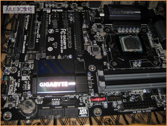 JULE 3C會社-技嘉 Z87X-D3H Z87/超耐久 主機板 + Intel E3 1230V3 CPU/全新風扇