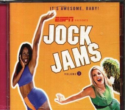 K - Jock Jams Volume 3 - CD - NEW Freak Nasty 2 Unlimited