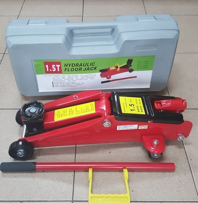 外銷品牌:DINO  1.5TON4輪油壓千斤頂./頂車架/千斤頂/拖板車/,超特價-限量--