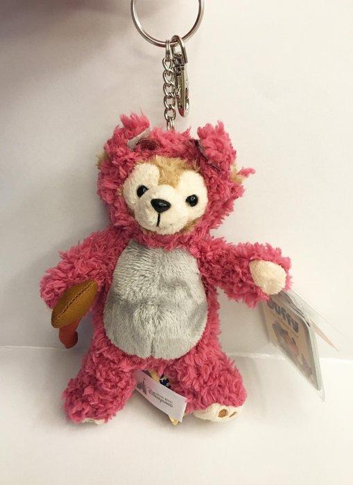 ^燕子部屋 ^ 香港迪士尼 達菲熊 熊抱哥衣服娃娃吊飾鑰匙圈