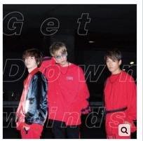 w-inds. Get Down 普通盤CD 台灣正版全新108/7/31發行