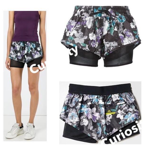 【Curiosity】Adidas by Stella McCartney雙層運動短褲2XS $3990↘$1950免運