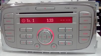 *吉祥汽車音響*福特Mondeo原廠cd/mp3/am/fm/jaux音響主機