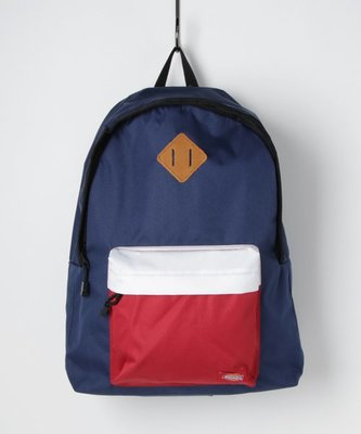 【Mr.Japan】日本限定 PRODUCTY WARRANTY 後背包 雙排扣 側邊拉鍊 包包 包 藍x白x紅 預購款