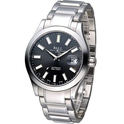 波爾錶 BALL Watch 工程師 Marvelight 大三針自動機械腕錶 NM2026C-S23J-GY 台北市
