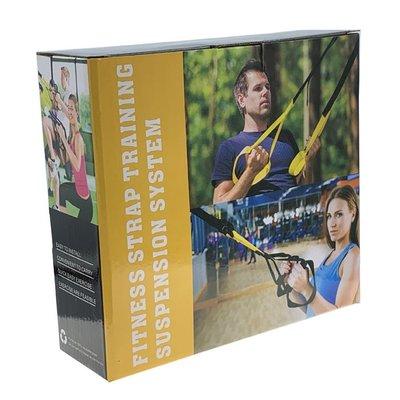 TRX懸掛式健身訓練帶 懸吊訓練 拉力繩