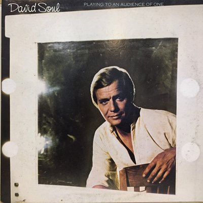§小宋唱片§ 美版/David Soul – Playing To An Audience Of One/二手西洋黑膠