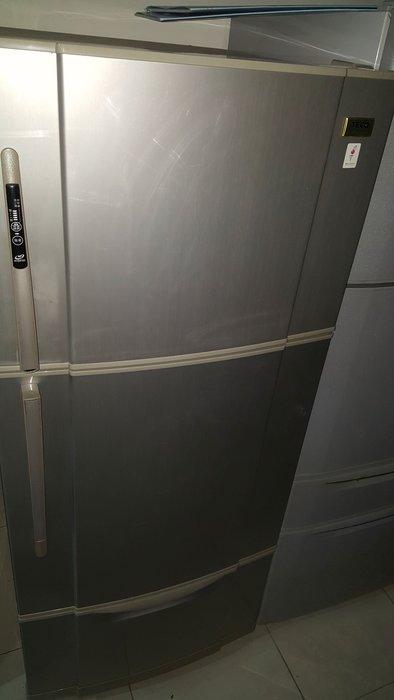 東元變頻三門冰箱7500保固三個月七成新