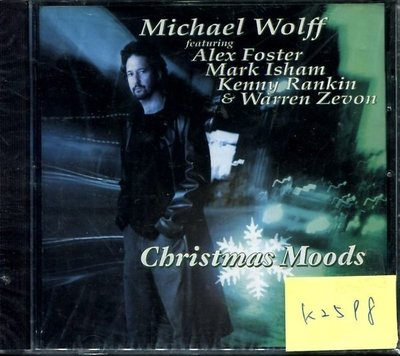 *真音樂* MICHAEL WOLFF / CHRISTMAS MOODS 歐版 全新 K2598(清倉.下標賣5