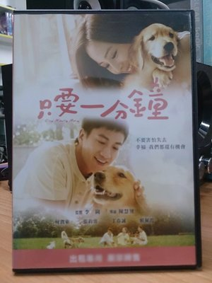 影音大批發-E10-013-二手DVD-華語【只要一分鐘】-何潤東 張鈞寧 丁春誠(直購價)