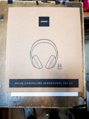 ☆【BOSE Noise Cancelling Headphones 700 UC 商務無線消噪耳機】☆銀色