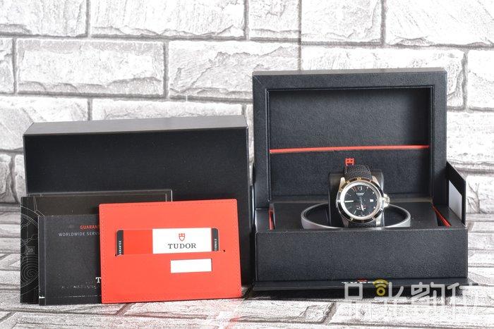 【品光數位】TUDOR 帝舵 20500N GRANTOUR DATE 黑色 42mm 機械錶 #80694