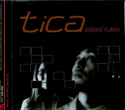 K - Tica - Latest Rules - 日版 - NEW