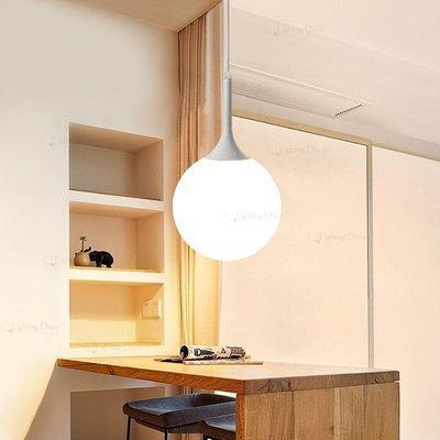 【Lighting.Deco】浪漫空間高爾夫球型吊燈 玻璃球吊燈 餐桌吧檯玄關走道吊燈 直徑30公分