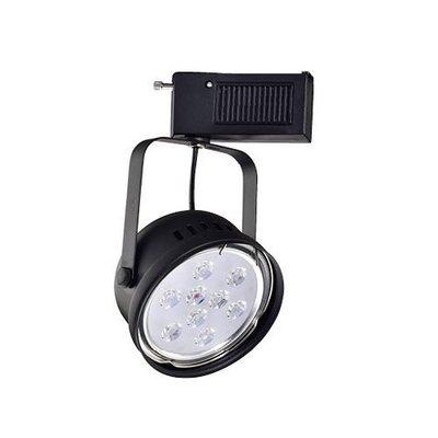 【燈王的店】LED 9W 軌道燈 黑框 附台製驅動 白光/ 暖白光/ 黃光 ☆TYL708B-9W