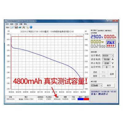 電池特斯拉松下代工48v60v 21700動力3.7V電動車鋰電池4800MAH替18650