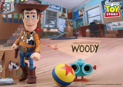 HeroCross 最新Toy Story Woody Metal Figure!
