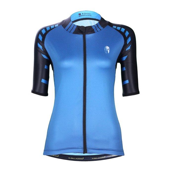 【ILPALADINO】競技型女士短袖車衣 :: 藍