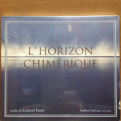 CD Gabriel Faure Sanford Sylvan Lydian String Quartet L'Horizon Chimerique 全新未拆