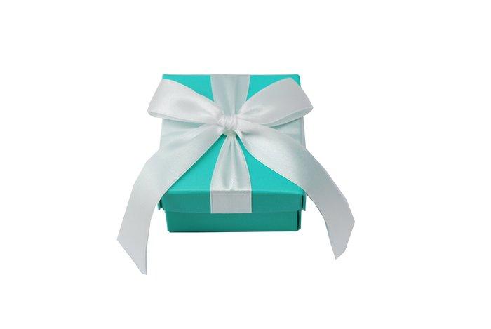 蒂芙尼緞帶白禮盒-甜點/手工皂/餅乾糖果/婚禮禮盒/禮物盒/紙盒/禮品包裝盒