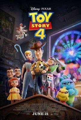 Pixar 皮克斯 - 玩具總動員4 (Toy Story 4) - 美國原版雙面電影海報 (2019年)