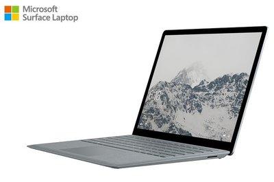 微軟Surface Laptop (i5/8G/128G)白金色送滑鼠+電腦包NT$25300含稅免運