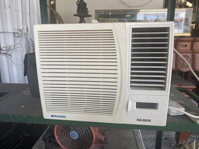 全虹二手傢俱-彰化二手倉庫 110v  窗型 冷氣機 足0.8頓 冷氣 家用電器