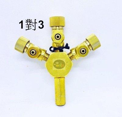 【樂魚寶】CO2調節器 1對3 二氧化碳 分接 分流器 精準分流 co2分流閥 (微調型)