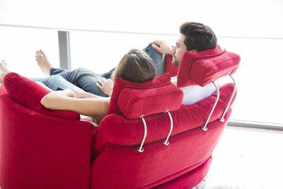 [時尚潮流]  Fama 名牌工廠 直銷 * Moonrise XL雙人 舒適沙發組  ~ /含腳蹬 頭枕/~