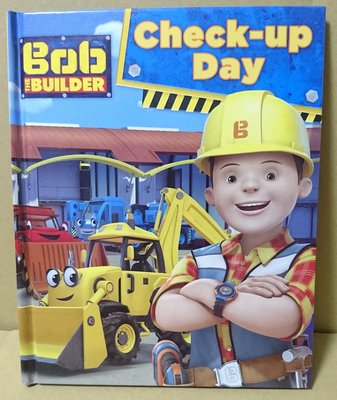 Bob the builder check-up day 全英文閱讀書 故事書 學習書 兒童英文書
