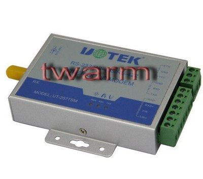《德源科技》r)UT-2577SM RS232/485/422單模單纖轉換器A端
