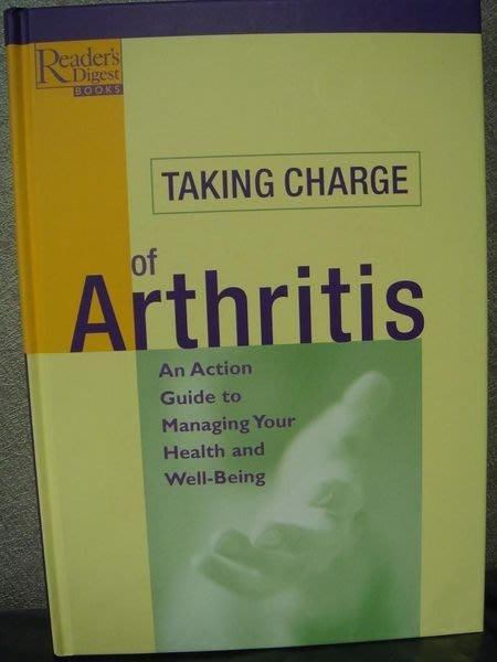 全新原文養生精裝書【Taking Charge of Arthritis】,只有一本,低價起標無底價!免運費!