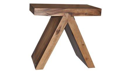 塔森柚木家具-柚木造型板凳CH-6