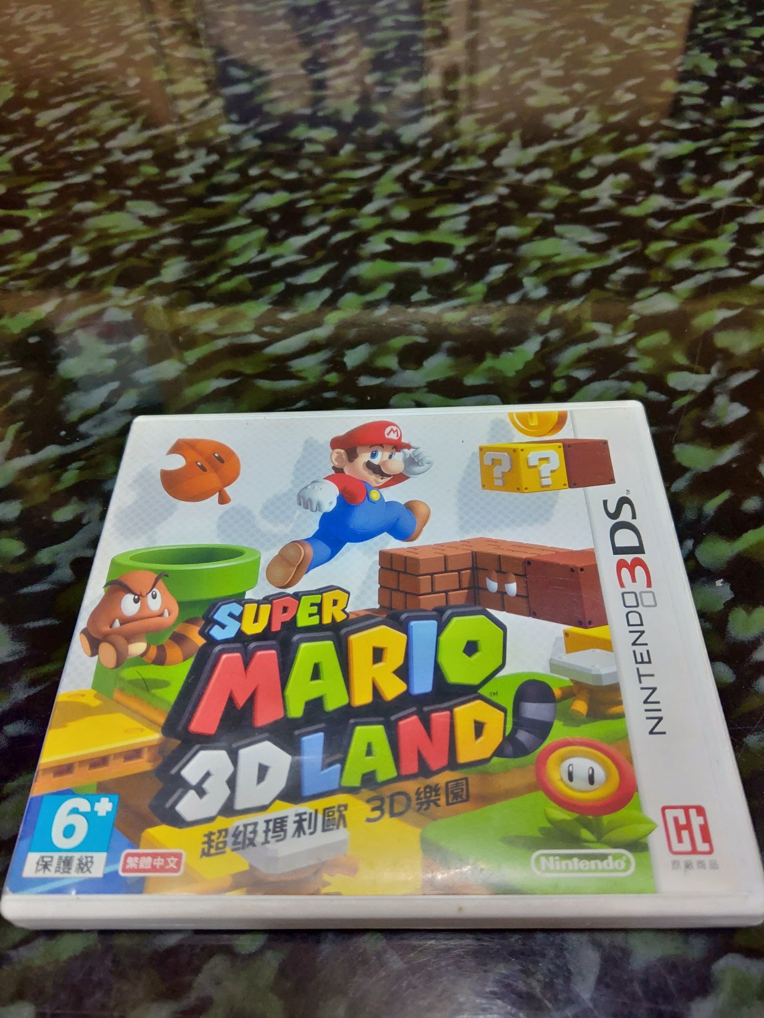 nintendo 任天堂 3DS遊戲片 【Super Mario 3D Land】二手品 日文版 CT原廠商品 台規機才能玩