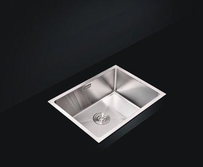 FUO衛浴:設計師首選! 50X45X22公分 廚房304不鏽鋼 手工水槽 1.2厚(5045)現貨優惠中!