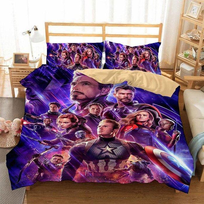 暖暖本舖 可訂製自己喜歡的照片 復仇者聯盟 床包 床笠 床單 海賊王 鋼鐵人 蜘蛛人 史迪奇 佩佩豬 美國隊長 小熊維尼