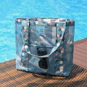 戶外旅行收納袋新款購物單肩大容量沙灘包(大)
