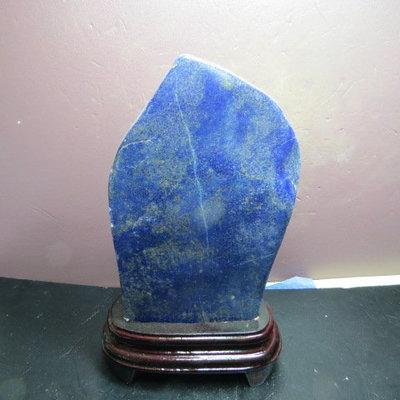 【競標網】高檔天然漂亮青金石原礦814...
