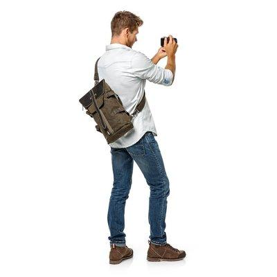 ☆國家地理 National Geographic NG AFRICA A4569 非洲系列白金版 兩用式單肩/雙肩背包