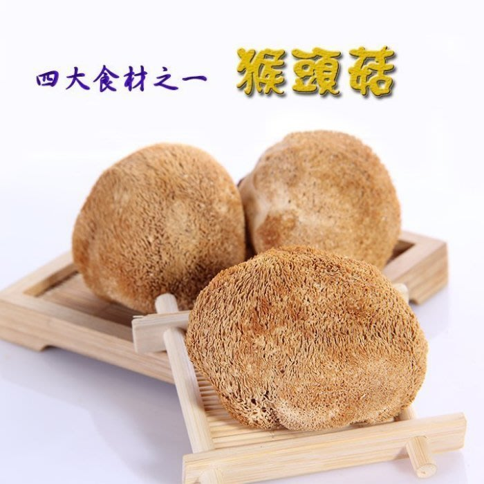 ~猴頭菇(半斤裝)~ 又稱猿頭菇,四大食材之一,素中葷,很好吃蠻Q的!【豐產香菇行】
