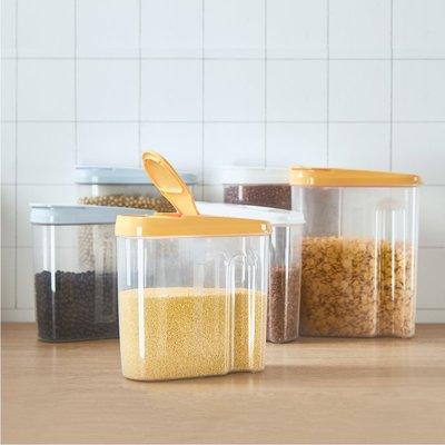 衣萊時尚-北歐五谷雜糧儲物罐大號廚房收...