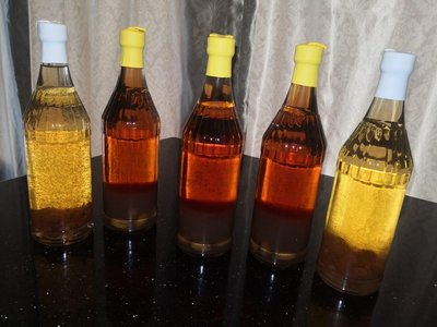 自家制2018年超甜黃皮酒,荔枝酒
