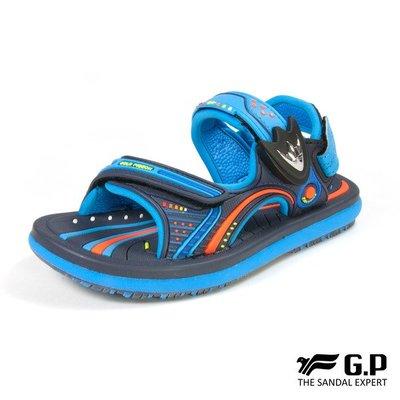 小市民倉庫-寄超商免運-GP-阿亮代言-小鳥牌-時尚休閒涼拖鞋-磁扣設計-穿脫方便-童鞋-GP涼鞋-G8669B-20